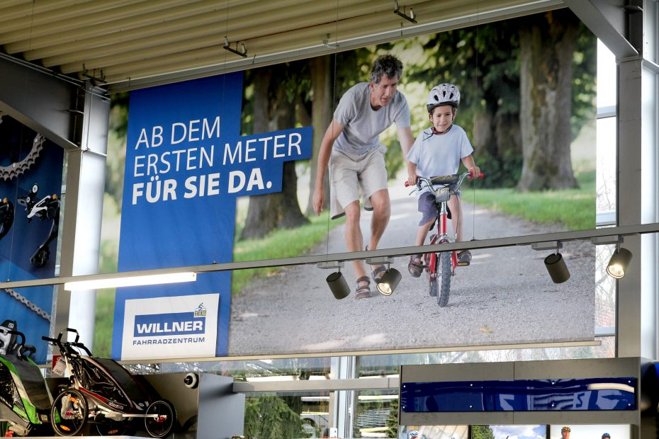 willner fahrradzentrum corporate design