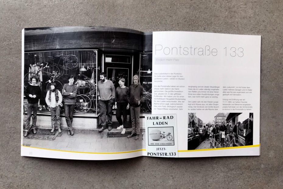 Flizz EUROBIKE, Broschüre 30 Jahre