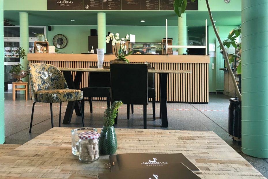 Jakob 143 Kaffeebar, Corporate Design